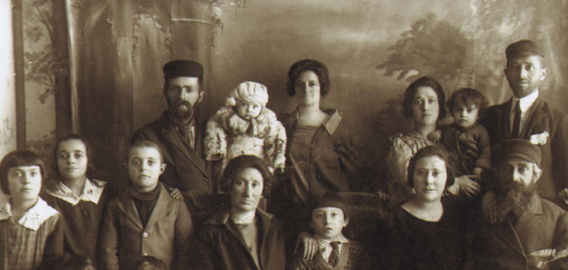The Fridling family in Chelm before the Holocaust
