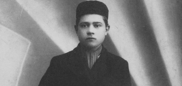Noah Lieberman in Chełm, before the war. Noah perished in the Holocaust