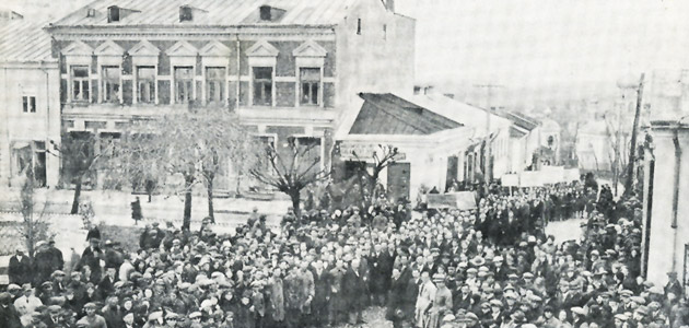 The May Day rally in Chełm, 1930