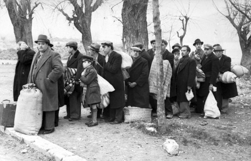 The deportation of the Jews of Ioannina to Larissa  March 1944  From    Jewish Deportation During The Holocaust