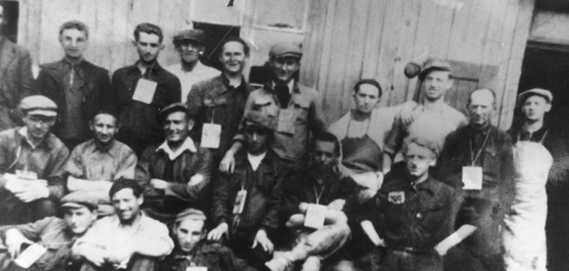 Jewish workers in the Kara-Hortensja glass factory in Piotrków Trybunalsk
