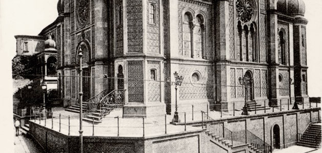 The Great Synagogue on Michelsberg Street, Wiesbaden