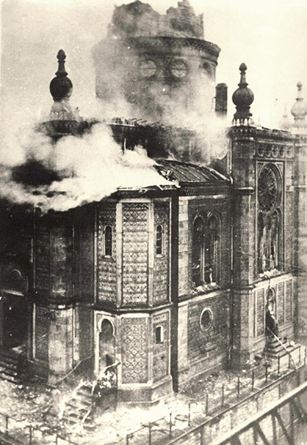 kristallnacht the beginning of the end for german jews Video testimonies to demonstrate that german jews performed many individual  acts of defiance and protest against nazi persecution starting.