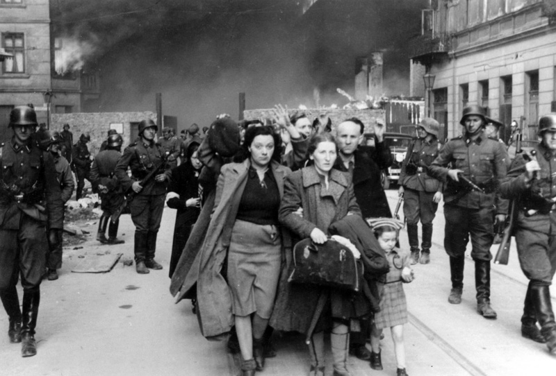 the warsaw ghetto during the nazi German guard stopping a jew at the warsaw ghetto checkpoint  jewish people  lived in warsaw from the 15th century, and during the 19th century the jewish.