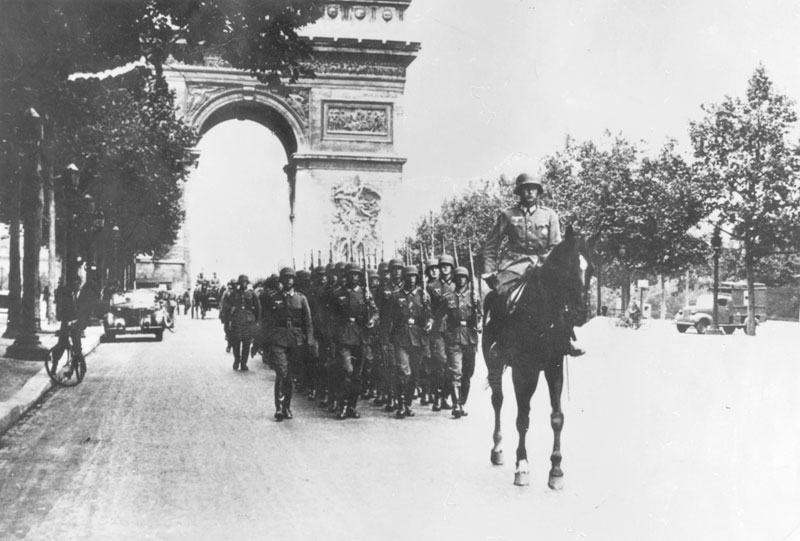 Today in history… sombre mood as Nazis march into Paris