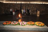 Babi Yar and Lithuania Memorial Ceremonies