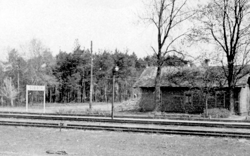 Railway station of the Sobibor camp